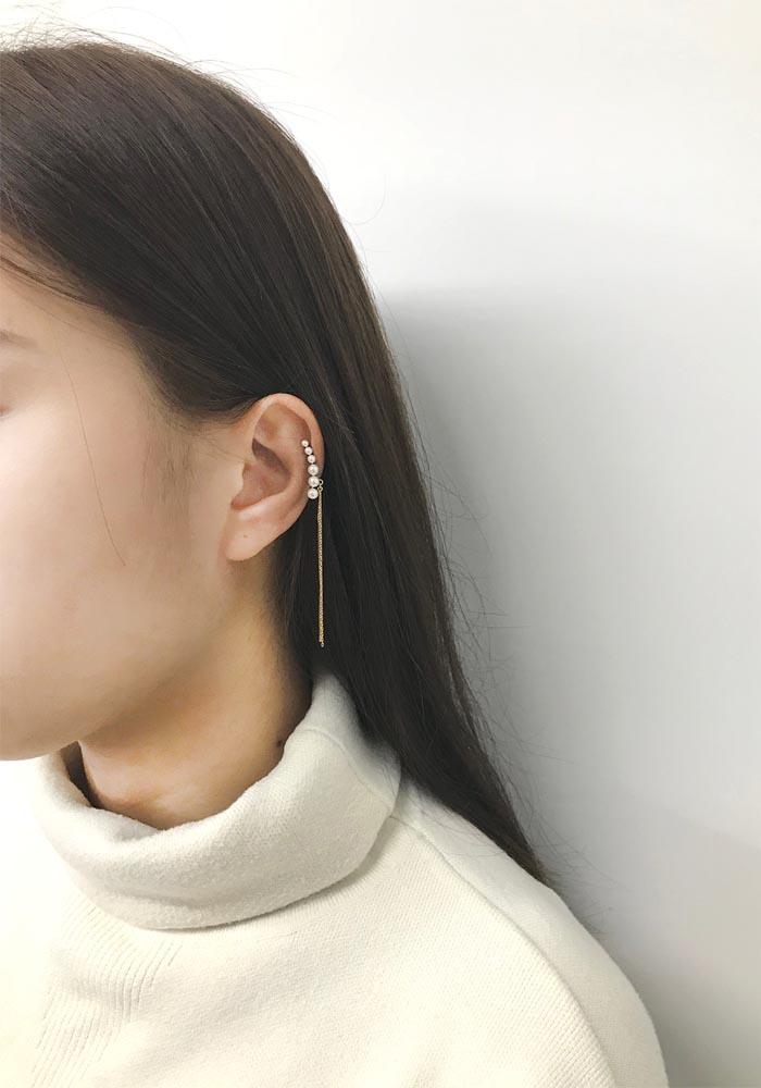 Eco安珂飾品,韓國耳環,耳夾式耳環,耳骨夾,耳扣,耳骨夾式耳環,韓國耳骨夾,韓國夾式耳環,耳扣夾式耳環,韓國耳環推薦,韓國耳骨夾推薦,珍珠耳骨夾,垂墜夾式耳環